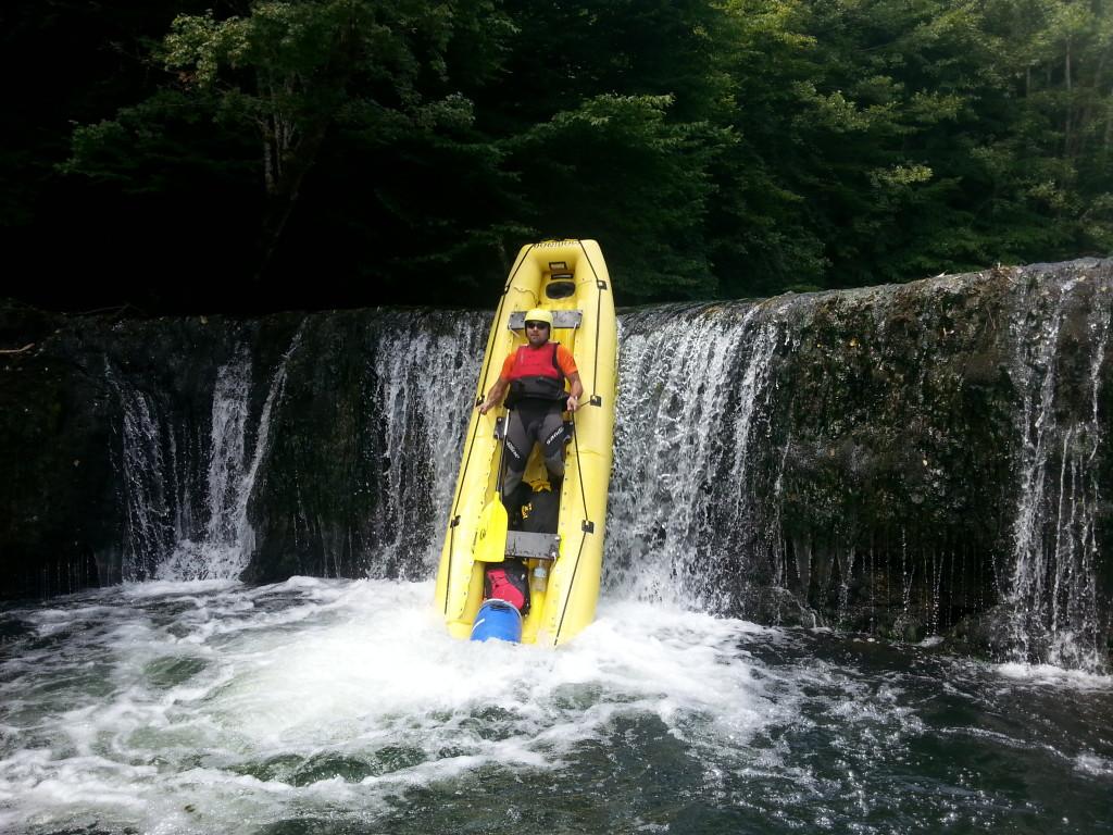 Rafting na Krki